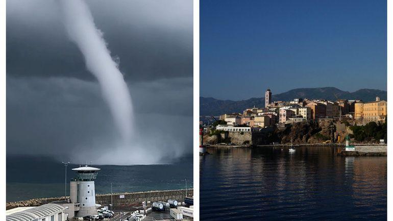 """Corse: en vigilance orange """"orages"""", """"l'île de Beauté"""" a été décoiffée par des tornades"""