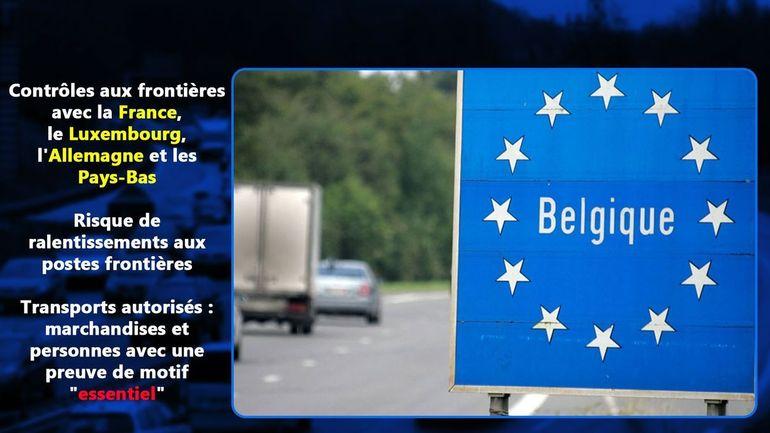 """Sortir de la Belgique malgré le Coronavirus? """"Emportez des documents pour prouver que votre voyage est essentiel"""""""