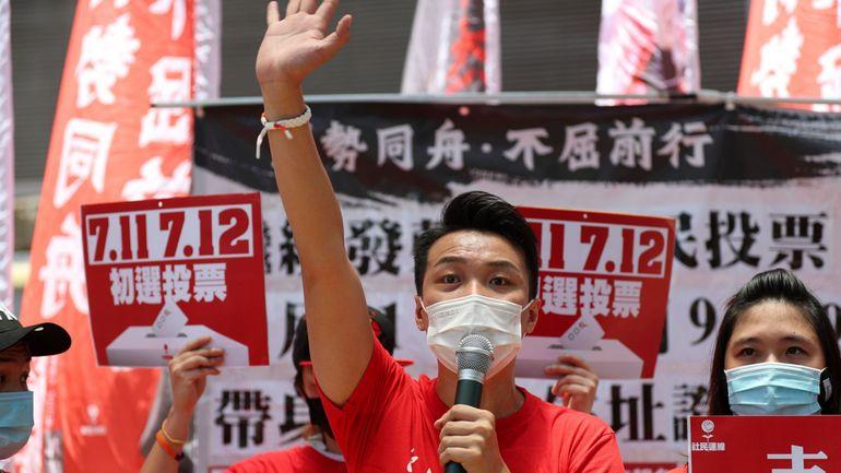 Loi sur la sécurité nationale à Hong Kong: raid policier avant des primaires de l'opposition à Hong Kong