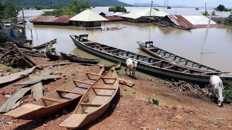 Nigeria: 200 personnes mortes dans des inondations au centre et sud du pays