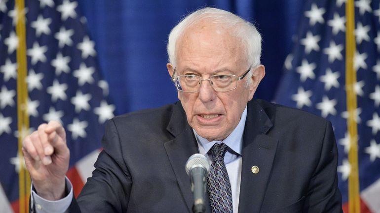 Présidentielle 2020 aux Etats-Unis: Bernie Sanders reste dans la course et participera au débat dimanche
