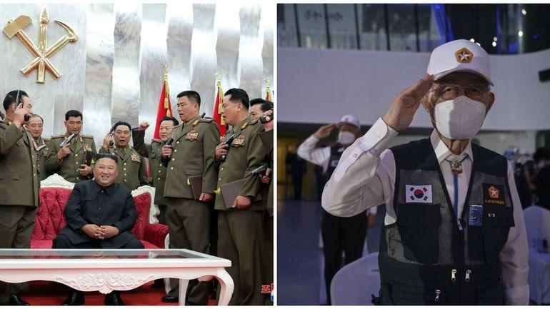 Masque ou pistolet: les deux Corées commémorent séparément l'armistice