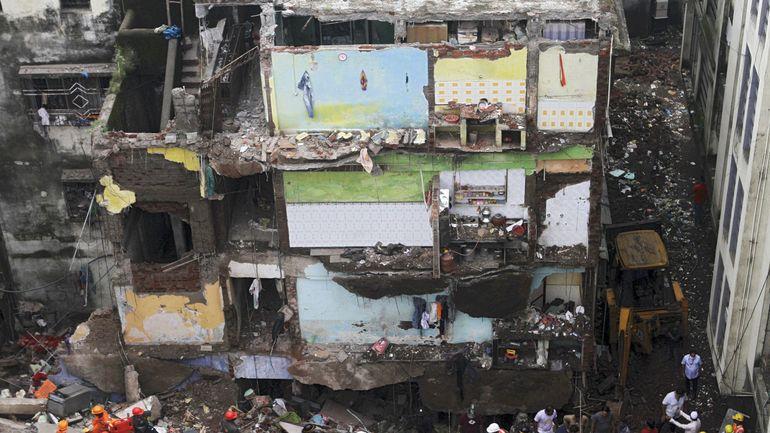 Inde: neuf personnes perdent la vie lors de l'effondrement d'un immeuble d'habitations près de Bombay