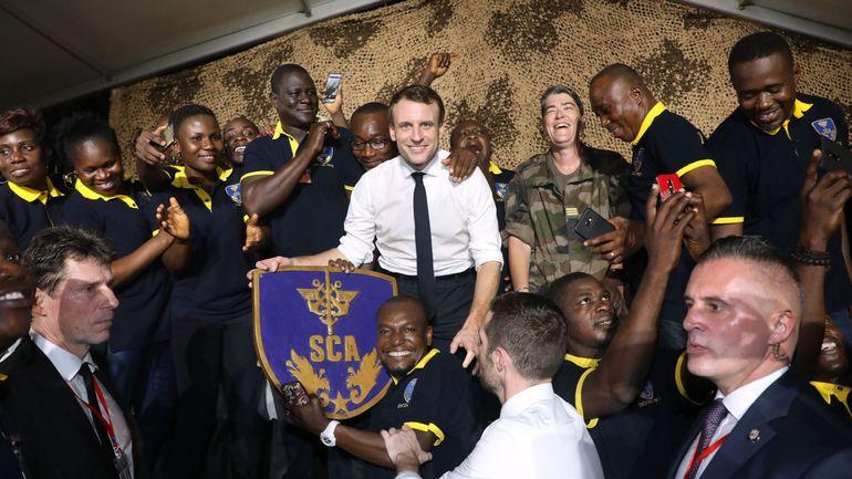 """Emmanuel Macron veut donner une """"nouvelle force"""" à la lutte antidjihadiste au Sahel"""