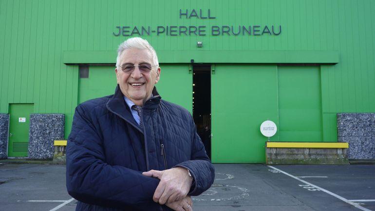 Bruxelles: le cuisinier Jean-Pierre Bruneau donne son nom à une halle du marché matinal