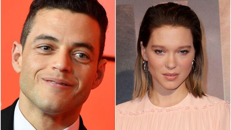 Cinéma: Rami Malek et Léa Seydoux au casting du nouveau James Bond