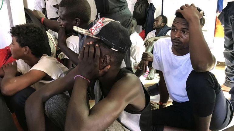Ocean Viking: accord européen pour répartir les 356 migrants à bord