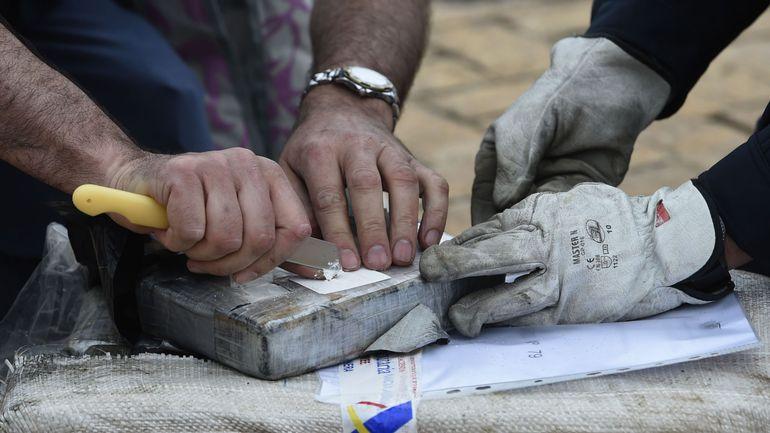 Trafic de cocaïne entre le Brésil et la Belgique: 9 suspects belges interpellés mercredi