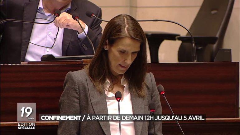 Le Parlement accorde sa confiance au gouvernement Wilmès II