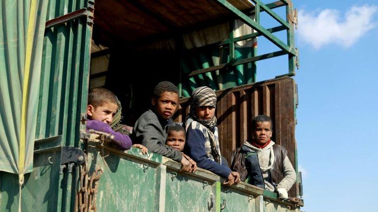 Syrie: plus de 2500 enfants de 30 pays entassés dans trois camps du nord-est