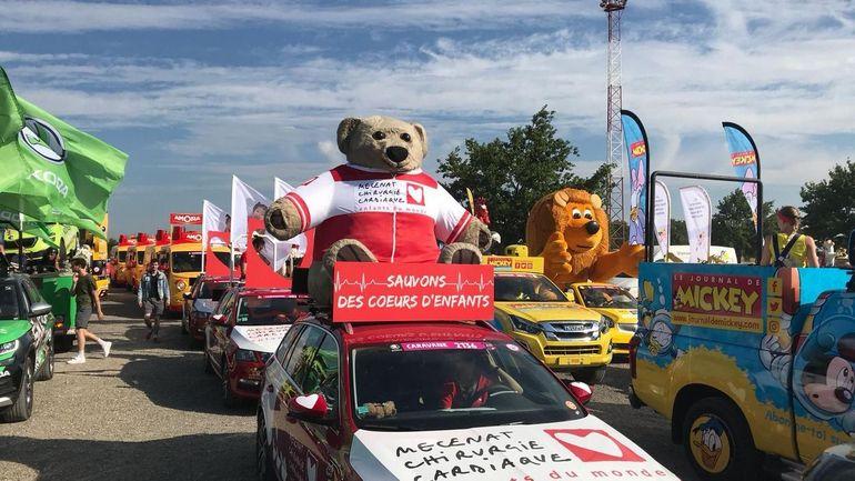 Gadgets éphémères, emballages et nouveau sponsor: le plastique, encombrant invité du Tour de France