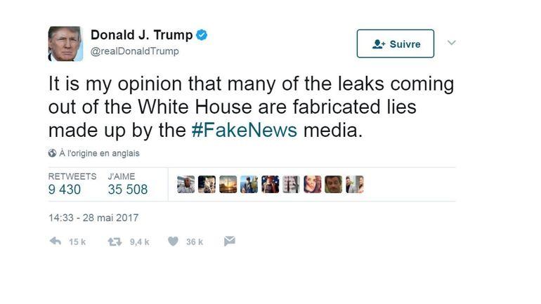 """Affaire russe: Trump attaque les """"mensonges"""" des médias sans apporter d'élément neuf"""