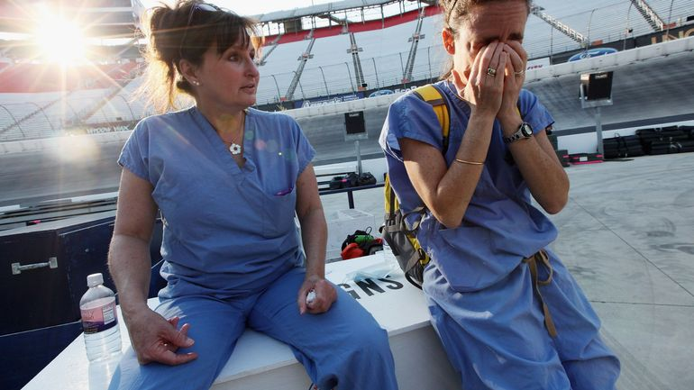 Coronavirus en Belgique: le syndrome post-traumatique, la nouvelle menace pour nos soignants