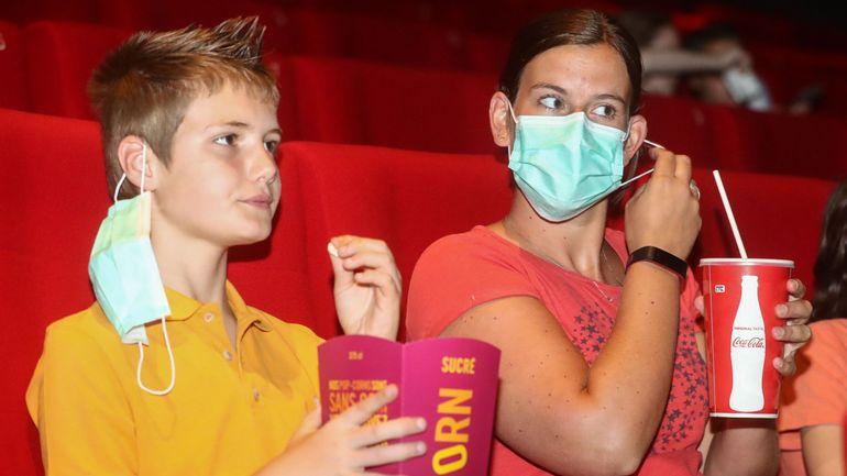 Coronavirus en Belgique : les cinémas demandent de reconsidérer le port du masque obligatoire dans les salles