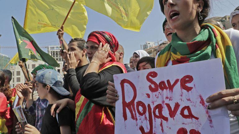 """Offensive turque: """"Une nouvelle carte du nord de la Syrie est en train de se dessiner"""""""