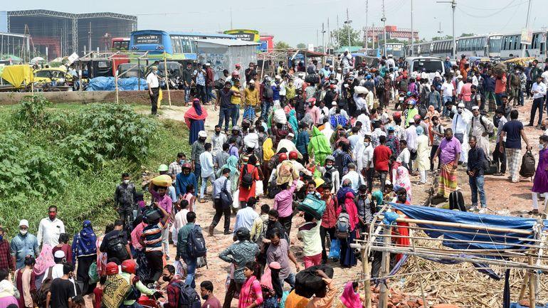 Coronavirus: le Bangladesh déconfine, malgré un nombre record de morts en 24h