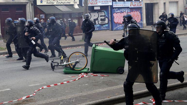 France: un collaborateur de Macron suspendu après avoir frappé un manifestant