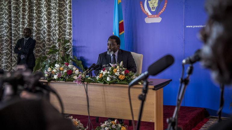 RDC: allocution du président Kabila devant le Parlement à 15h