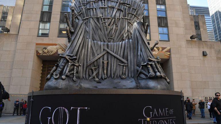 """L'ultime épisode de """"Game of Thrones"""" bat le record d'audience de HBO"""