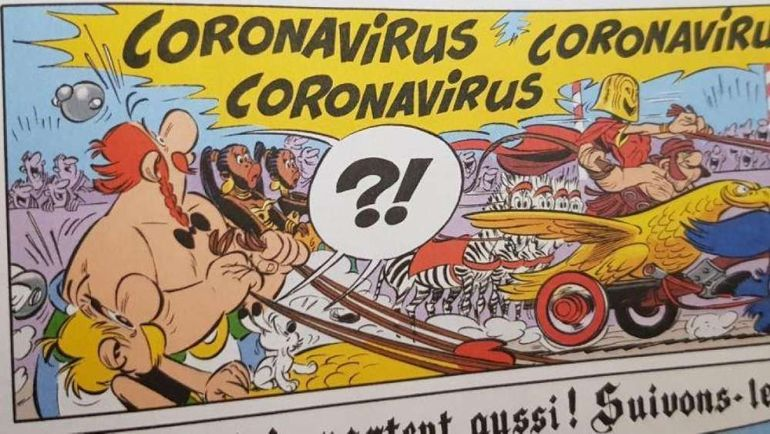 Comment Astérix a-t-il pu vaincre Coronavirus... il y a 3 ans?