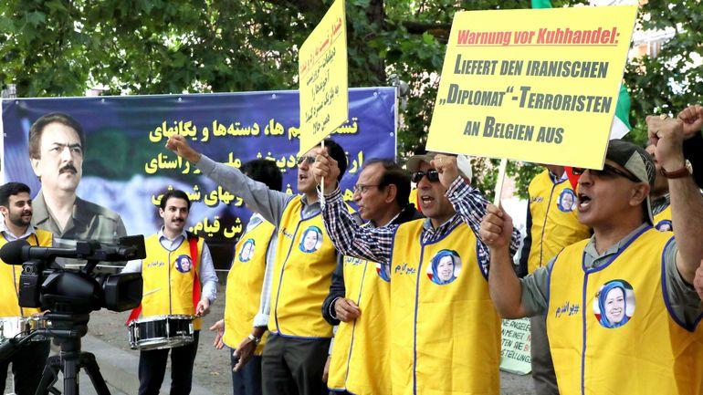 Diplomate iranien remis à la Belgique: l'Iran convoque l'ambassadeur allemand