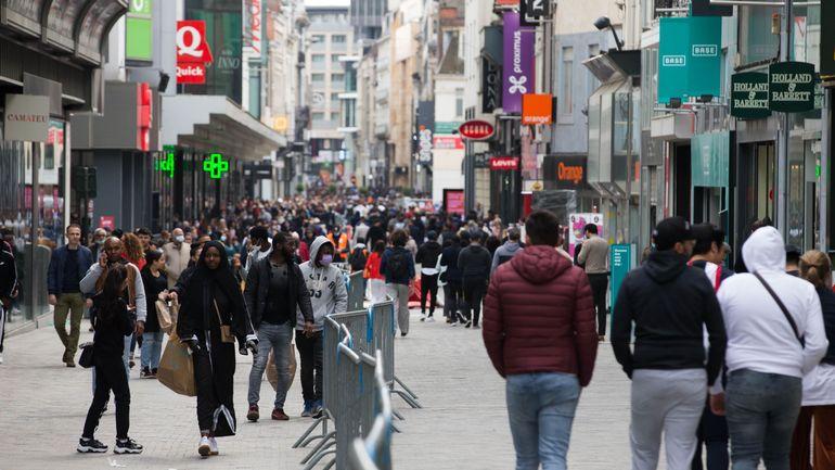 L'augmentation de la population en Belgique sera beaucoup moins importante en raison du coronavirus
