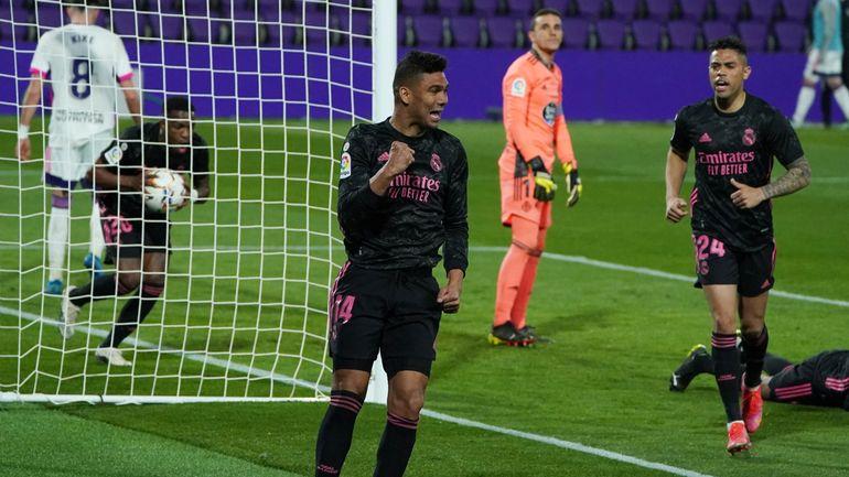 Liga: Le Real Madrid s?impose dans la douleur à Valladolid et remercie Courtois