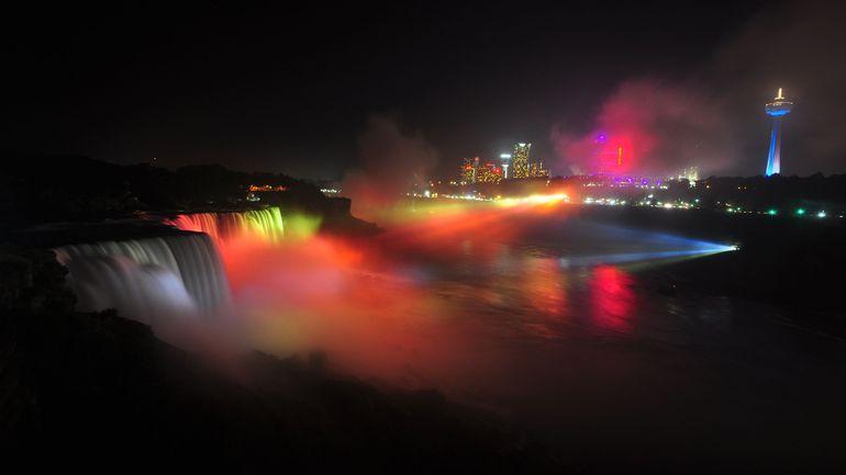 Fête nationale : les chutes du Niagara seront illuminées samedi aux couleurs de la Belgique
