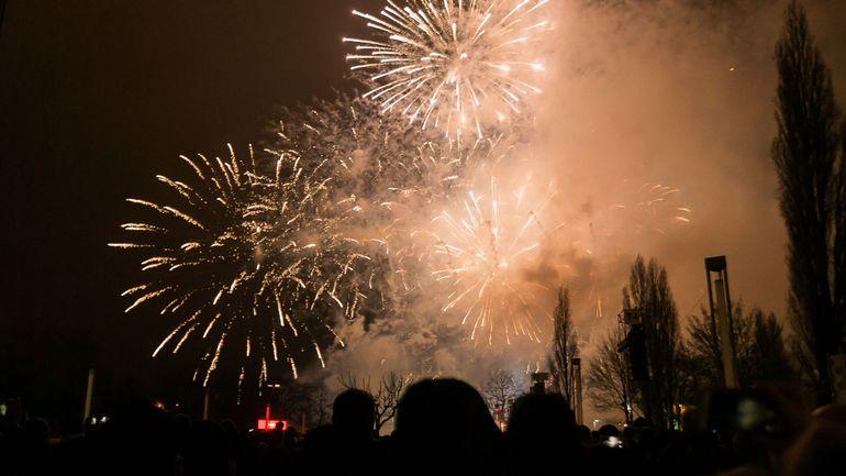 50 000 personnes pour le feu d'artifice et pas d'incidents majeurs pour le nouvel an à Bruxelles