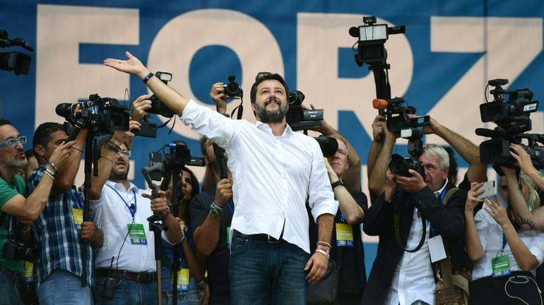 A Rome, Matteo Salvini donne rendez-vous, à ses supporteurs de toute l'Italie