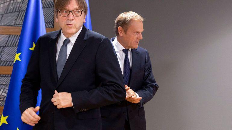 Brexit: Quatre problèmes encore à résoudre avant un feu vert du Parlement, prévient Verhofstadt