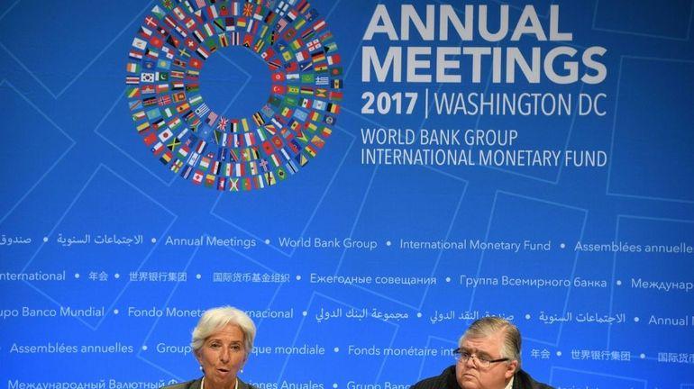 Contre Trump, les défenseurs du libre-échange ont fait entendre leur voix au FMI