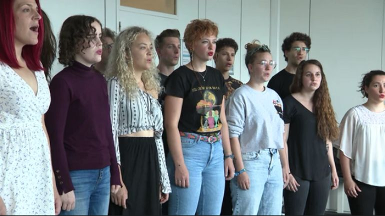 Une chorale de chant pop défend les couleurs de la Belgique à l'Eurovision des chSurs, ce samedi soir