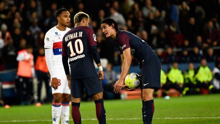 RTBF, Cavani-Neymar ou le risque de la guerre des ego