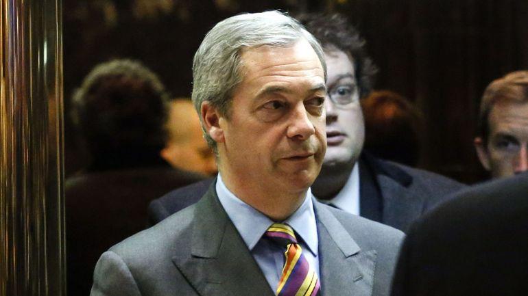 Le Britannique pro-Brexit Nigel Farage rejoint la chaîne Fox News