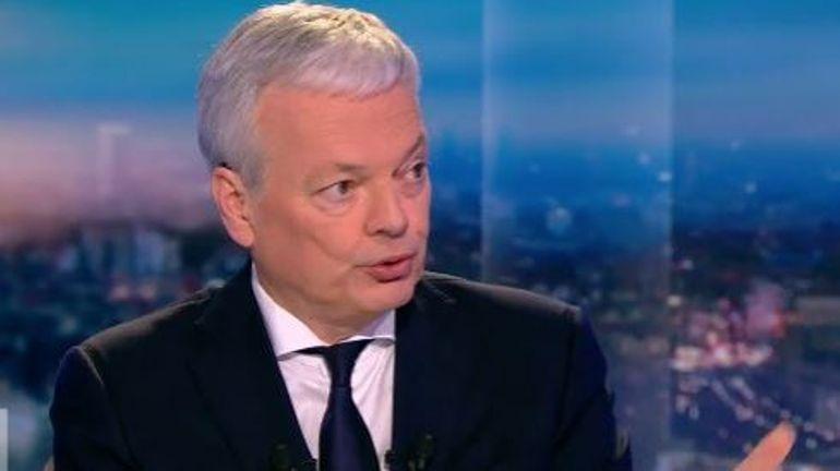 """Didier Reynders (MR): """"Il n'y aura pas de solution militaire en Syrie"""""""