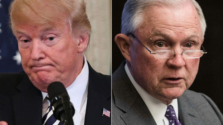 Ingérence russe aux USA: Trump demande à son ministre de la Justice de mettre fin à l'enquête russe