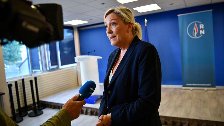 """Municipales en France : Perpignan passe aux mains du RN, Marine Le Pen y voit un """"déclic"""""""
