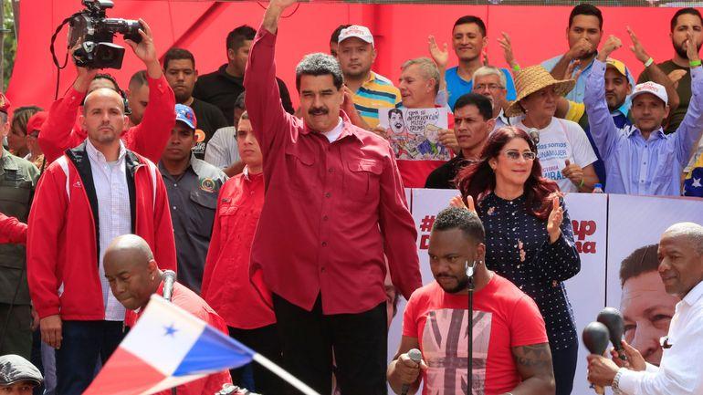 """Venezuela: Maduro qualifie Trump de """"nouvel Hitler de la politique internationale"""""""