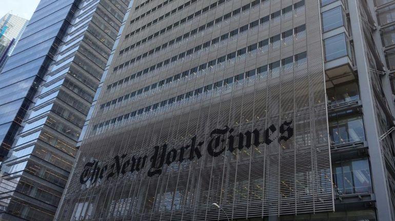 """Pour le patron du New York Times, le discours de Trump contre la presse est """"dangereux et nuisible"""""""