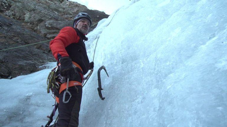 Jean, guide belge de haute montagne: rencontre au coeur d'un stage de cascades de glace
