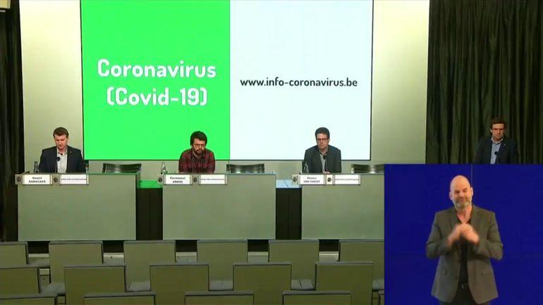 Coronavirus en Belgique: suivez en direct la conférence de presse du centre inter-fédéral de crise (11h)