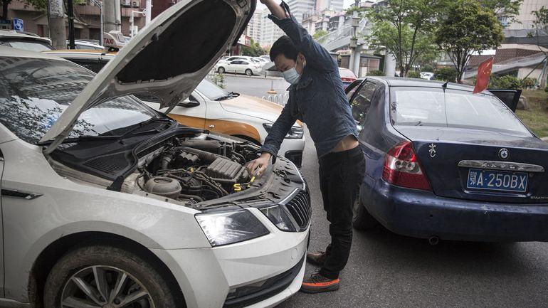Coronavirus en Chine: les ventes de voitures ont plongé en mars