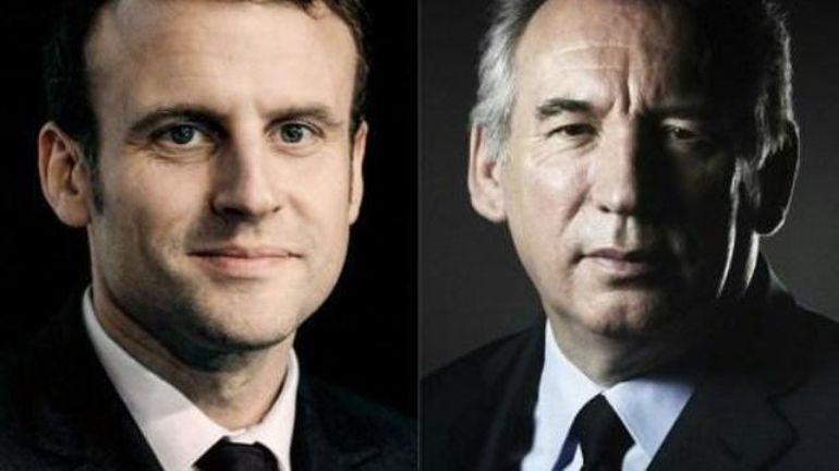 Présidentielle française: Emmanuel Macron accepte l'alliance proposée par François Bayrou