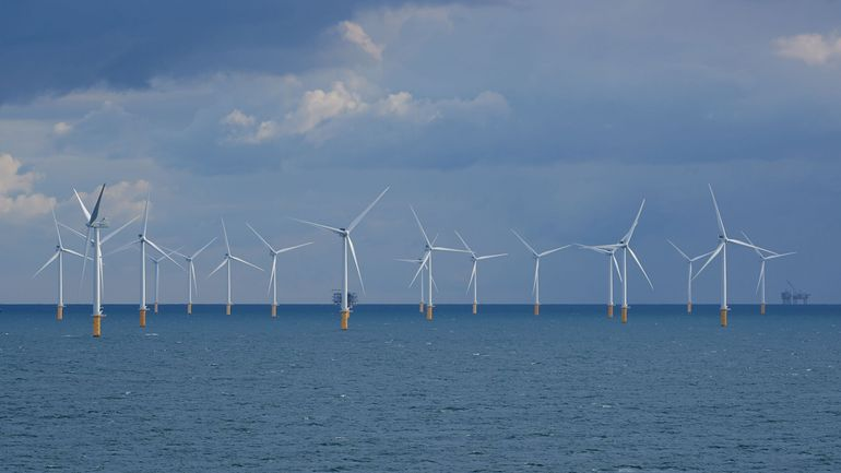 La tempête Dennis a provoqué un pic de production d'énergie éolienne en Belgique