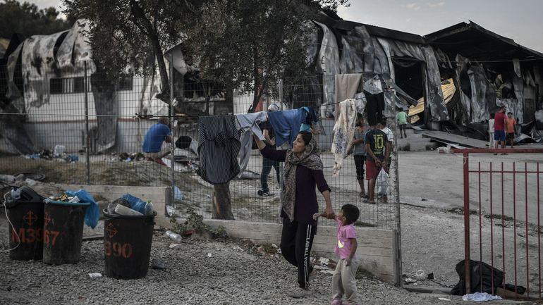 Incendie à Moria: l'Italie prête à accueillir 300 migrants