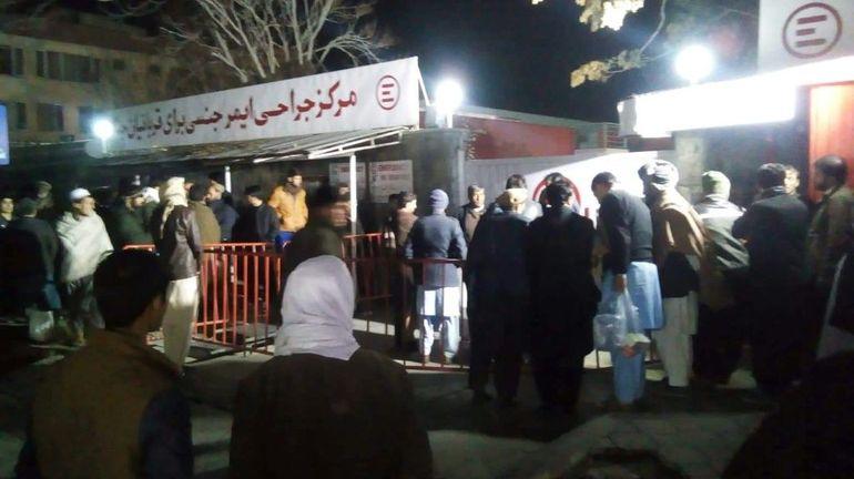 Afghanistan: au moins 50 morts dans un attentat lors d'un rassemblement religieux à Kaboul