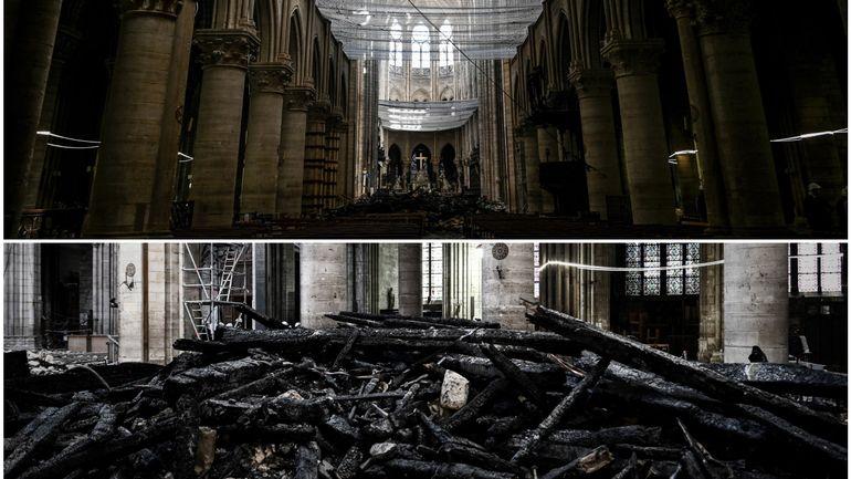 Notre-Dame de Paris: les images de l'intérieur de la cathédrale un mois après l'incendie