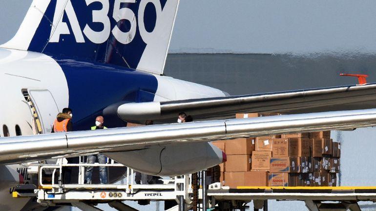 Coronavirus: Airbus transporte 4millions de masques vers l'Europe