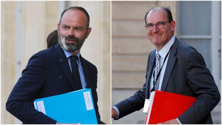 France : suivez en direct la passation de pouvoir entre Edouard Philippe et Jean Castex, Premiers ministres de Macron